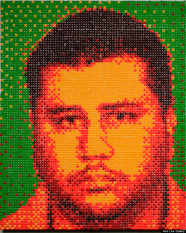 Fear Itself: George Zimmerman Portrait Made With 12,000 Skittles