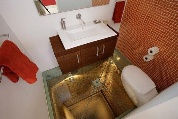 Glass-Floor-Bathroom-Elevator-Shaft
