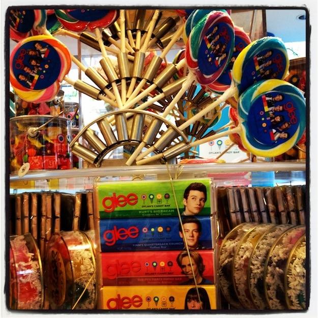 Chocolate Glee-ness Candy Display