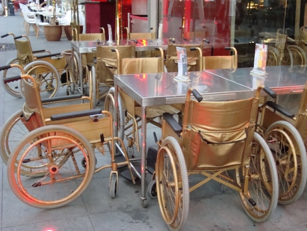 Gold-Plated-Wheelchairs-Surgical-Table