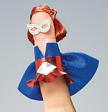 Hero Fingers: Ordinary Fingers Transformed Into Superheroes