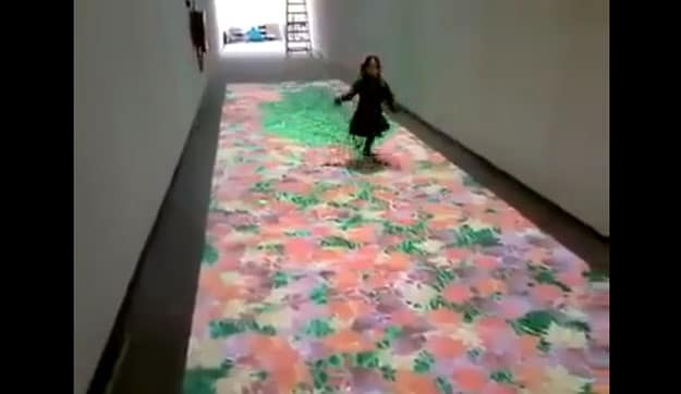 Digital Carpet: An Innovative & Interactive Technology Rug