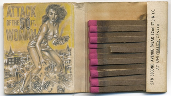 Incredible Vintage Matchbook Cover Art [12 Pics]