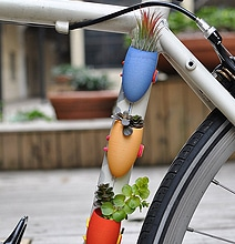 Colorful & Creative Bicycle Planters To Spice Up Your Bike