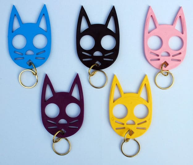 Knuckle Kitties: Keychain Doubles As A Badass Self-Defense Weapon