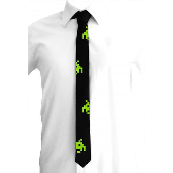 Space-Invaders-Mens-Tie