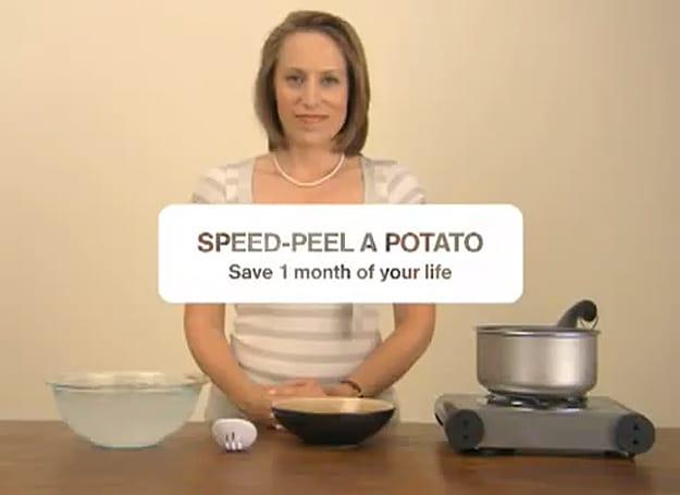 Speed-Peel-A-Potato-Video