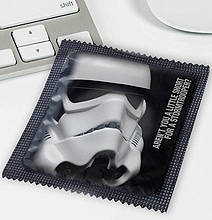 Star Wars Condom Designs: May The Condoms Be With You