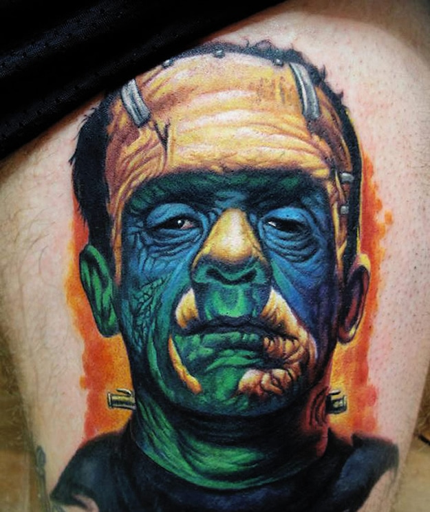 An Incredible Collection Of Realistic Character Tattoos