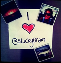 StickyGram: Instagram Magnets Add Personality To Your Fridge
