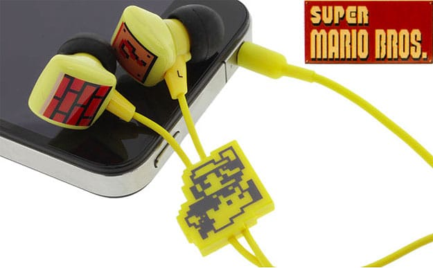 Get Your Geek On With Super Mario Bros. Earbuds
