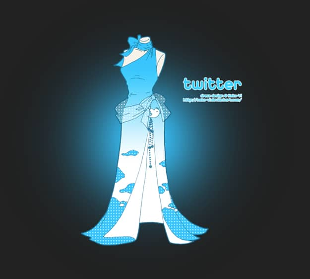 Internet Dresses: Wear Twitter, Facebook, Google & More