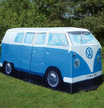 For The Hippie In You: The Volkswagen Bus Camping Tent