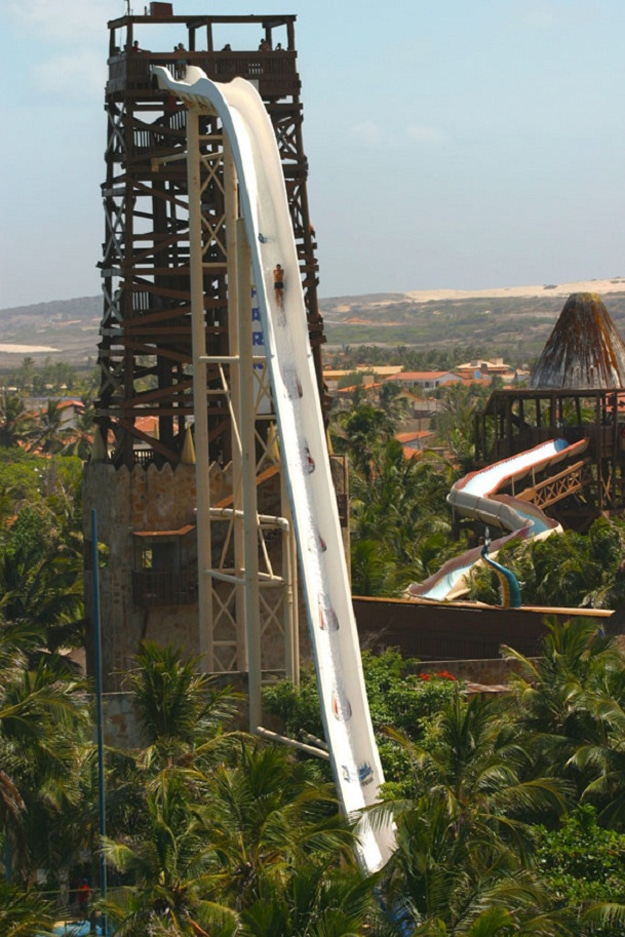 The World's Highest Water Slide Is A Heart-Stopping Thrill