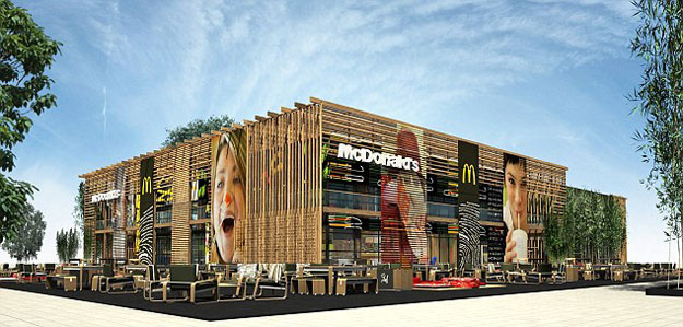 The World's Largest McDonald's Just Got Super Sized