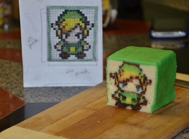 Geek Happiness: Zelda Link Pixelated Cookies