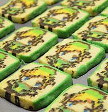 Geek Happiness: Zelda Link Pixelated Cookies