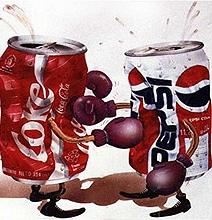 Coca-Cola vs. Pepsi: The Mega Showdown [Infographic]