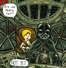 Darth Vader & Son: The Cute Moments Never Seen