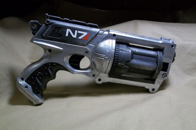 Mass Effect Inspired Nerf Gun Mods