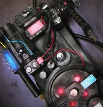 Mega Detailed Ghostbuster Proton Pack Replica