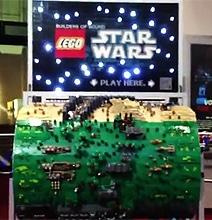 Mammoth Lego Organ Barrel Plays The Star Wars Theme
