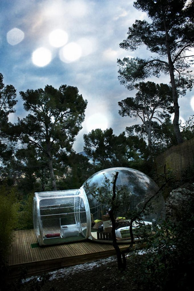 Bubble Hotel Lets You Sleep Under The Sky In A Plastic Ball