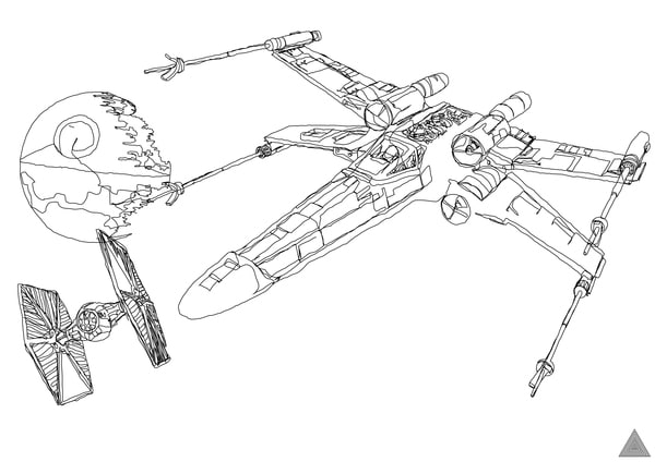 one-line-star-wars-drawings