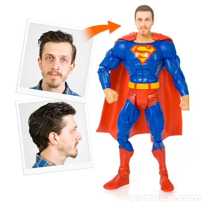 Now You Can Have Your Own Personalized Superhero Figurine