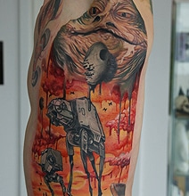star-wars-dali-tattoo-motif