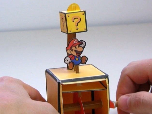 How To Create Your Own Super Mario Papercraft Automaton