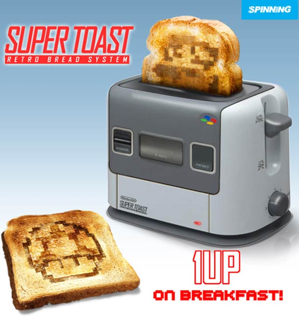 Super NES Toaster: For The Sophisticated Gamer