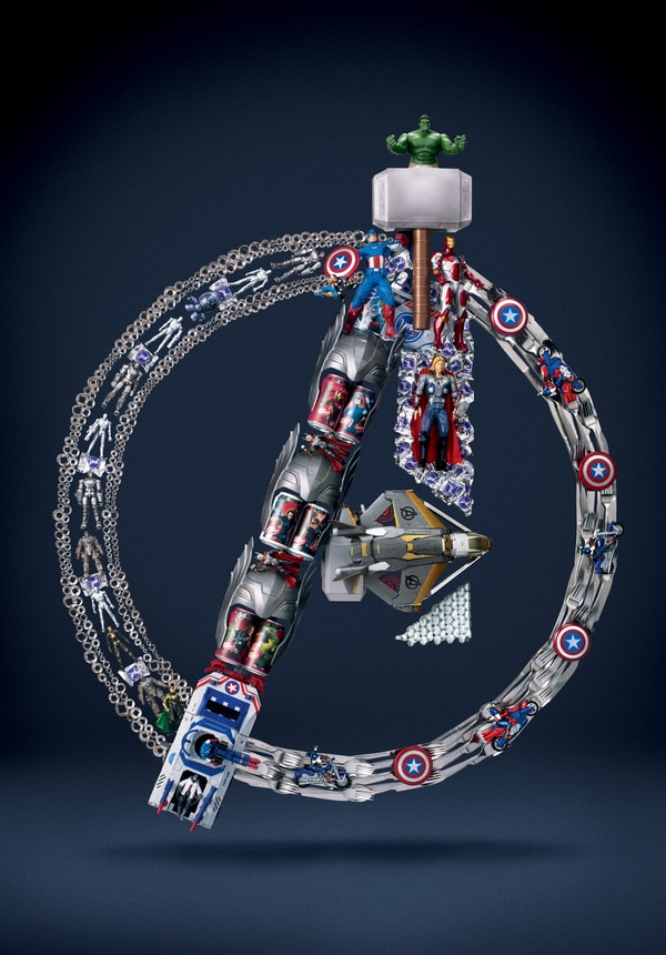 the-avengers-recycled-sculptures