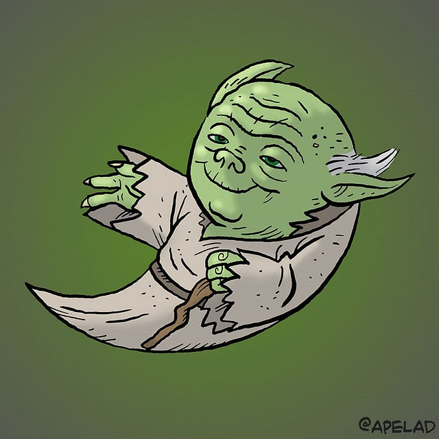 Custom Illustrated Star Wars Twitter Avatars & More