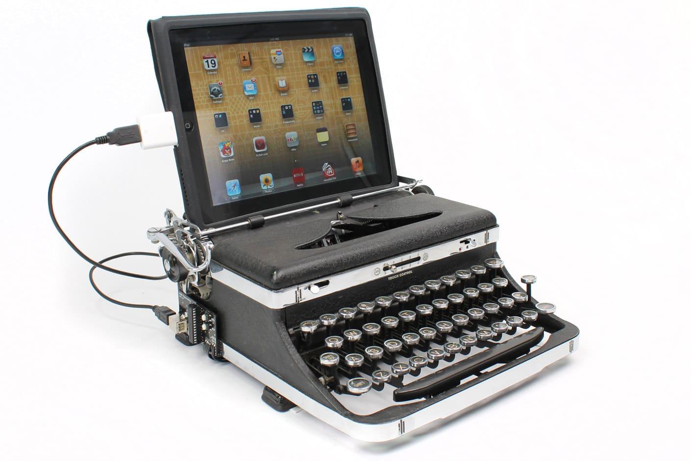 typewriter-usb-mod-keyboard  Typewriter