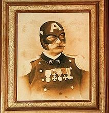 15 Superheroes & Movie Characters In Vintage Photo Series