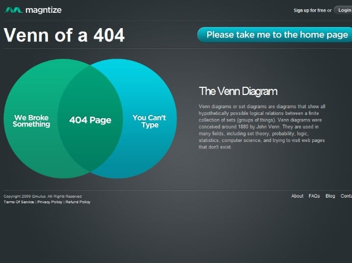 Entertaining Witty 404 Page Designs