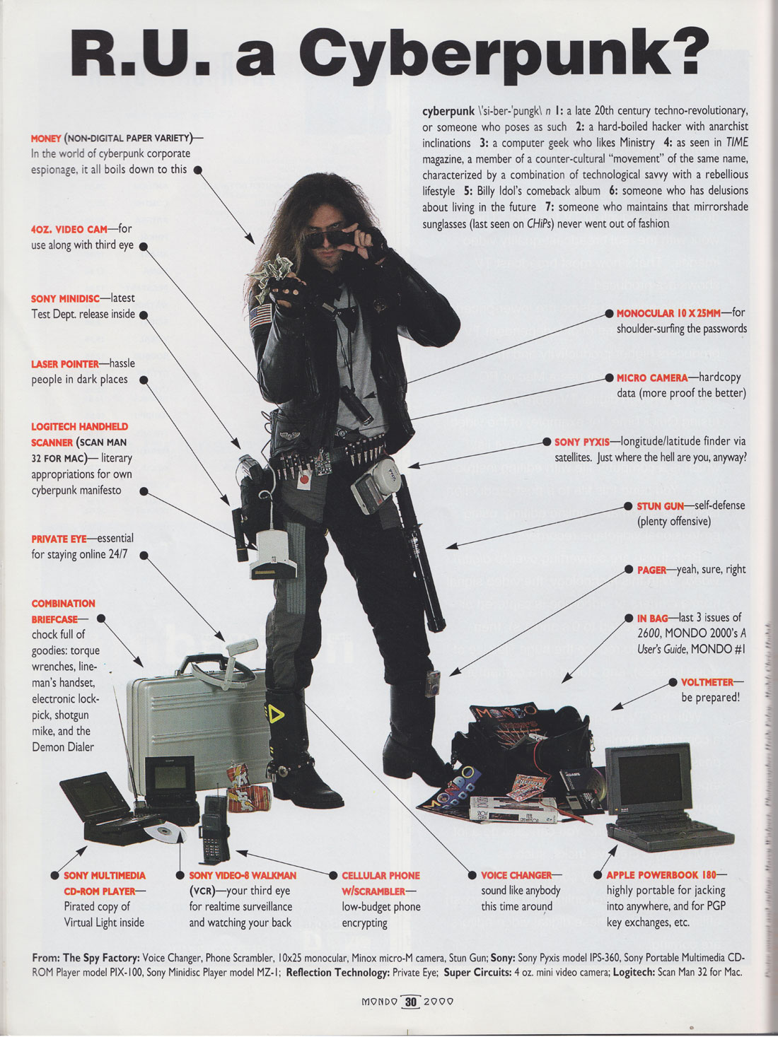 Cyberpunks From The '90s: An Unusual Kind Of Retro [Chart]