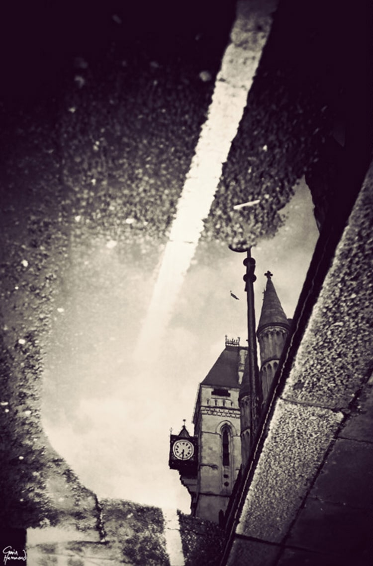 London In Puddles: Magical Photographs Taken In Rain Puddles
