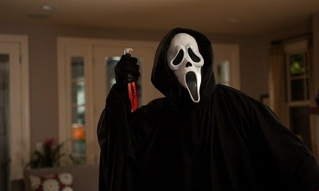 Character Ghostface from Scream 4