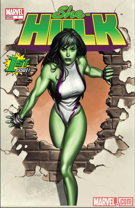 Hulk's cousin Jennifer Walters