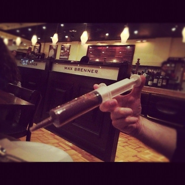 Giant-Chocolate-Syringe-Hand