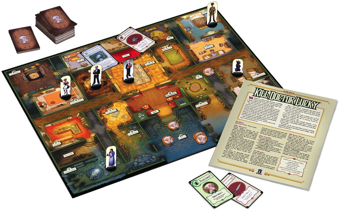 Kill Doctor Lucky: The Unofficial Prequel To Cluedo