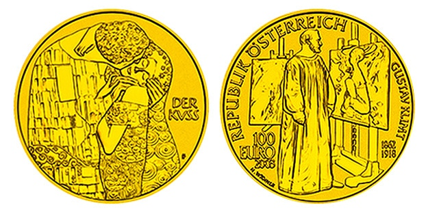 Klimt-The-Kiss-Gold-Coin