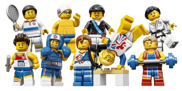 The Great Britain Olympic Team Recreated In Lego Minifigs