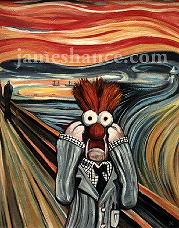Meep Scream Artist James Hance