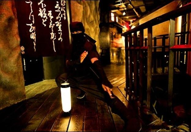 NINJA New York: Smoking Food & Sword-Wielding Ninja Waiters