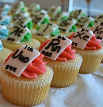 Periodic Table Of Cupcakes: Perfect For Chemistry Geeks