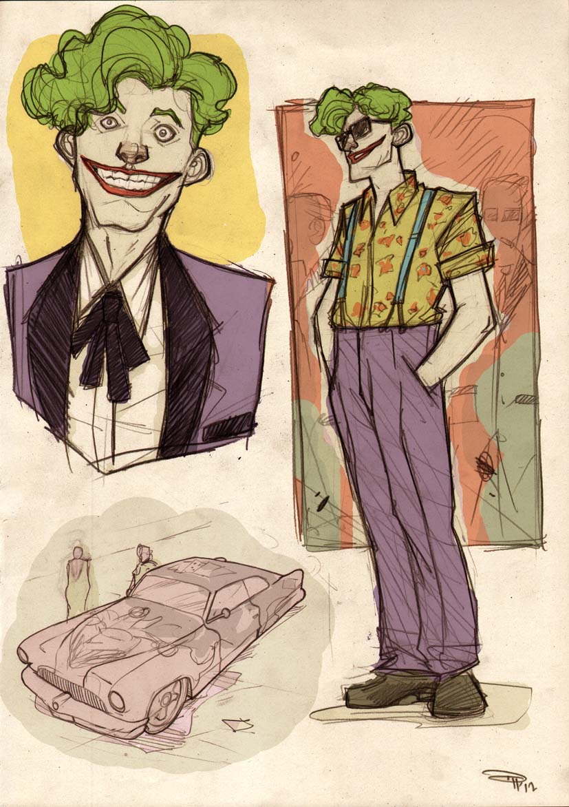Rockabilly Joker concept Denis Medri