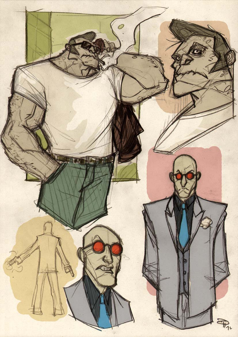 Rockabilly Killer Croc Mr. Freeze